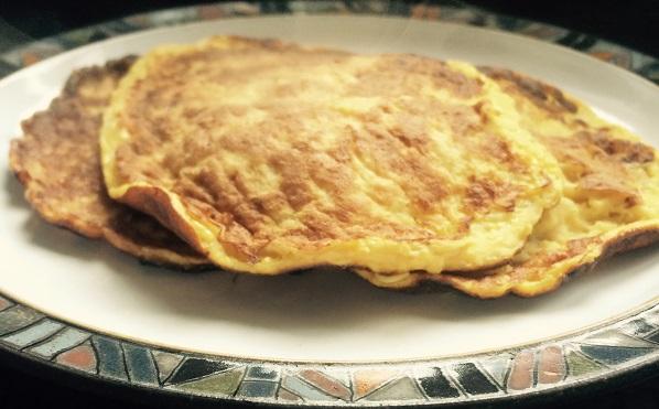 Banana and Egg 2 ingredient Pancakes