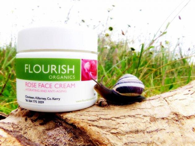 Flourish Organics Rose Face Cream