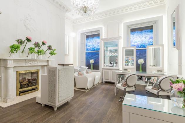 The Salon at The Shelbourne Hotel in Dublin, Ireland