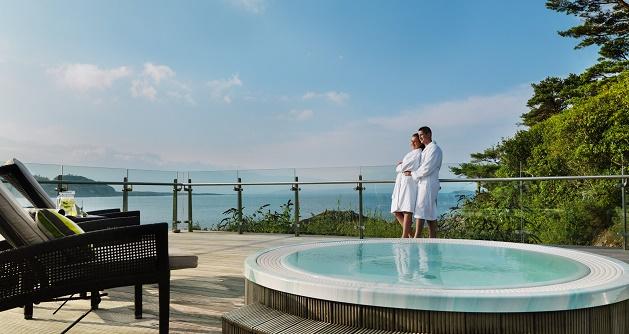 Parknasilla Resort & Spa Outdoor Tub