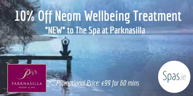 NEOM Spa Treatment at parknasilla