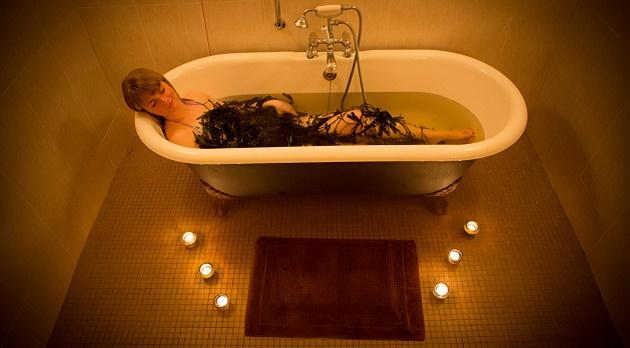 Seaweed baths at Delphi Spa