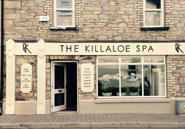 The Killaloe Spa's temporary setting in Killaloe village