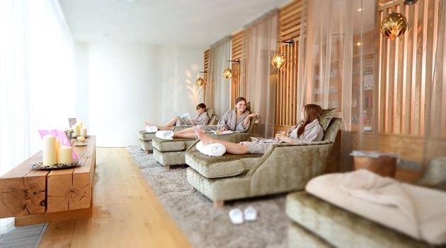 Relaxation Room at Vedas Beauty