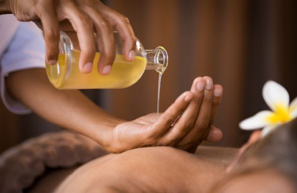 Stress reducing aromatherapy treatment/spas.ie