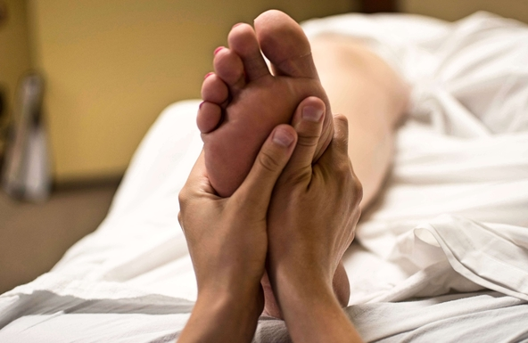 reflexology stress reducing treatment