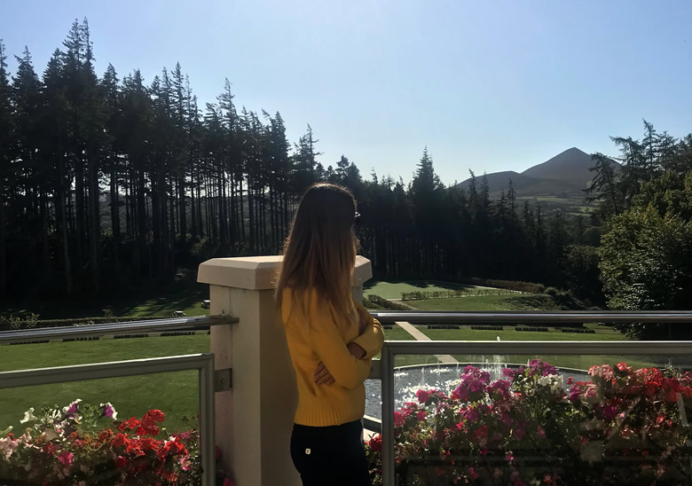 Powerscourt views